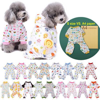 Costume For Cat (Dog Puppy Cat Warm Cute Cartoon Clothes Coats Apparel Jumper Pajamas)