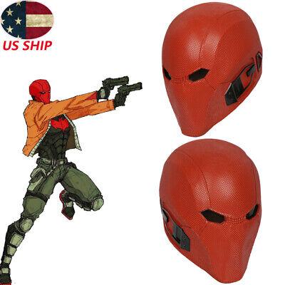 Injustice 2 Red Hood Helmet Cosplay Costume Prop Batman Mask Replica Halloween