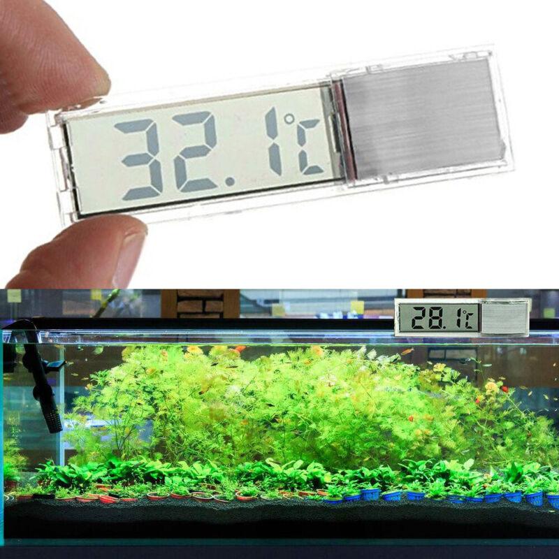 Digital LCD Fisch Aquarium Thermometer Wasser Temperatur Sensor Messergerät DE