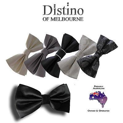 MENS BOW TIE - Pre-tied Bowties for Wedding, Formal, Tuxedo Men's Pretied  - Pretied Bow Tie
