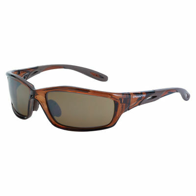 Crossfire By Radians Infinity 2117 Safety Glasses. Hd Mirror Brown