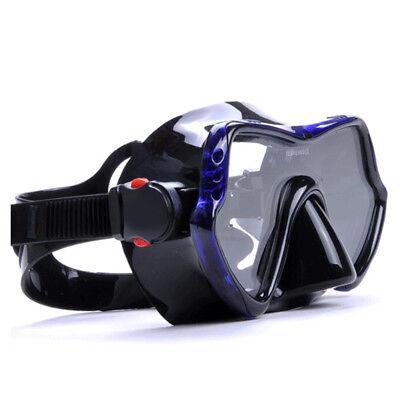Profi Tauchenmaske Antibeschlag-Schutz Scuba Taucherbrille Unterwasser Goggles