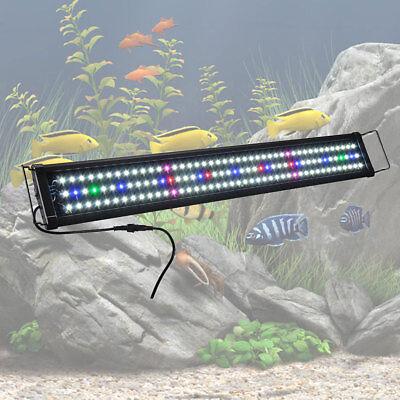 Aquarium Lighting Fish Tank Light Hood with Extendable Brackets, Tropical Fish