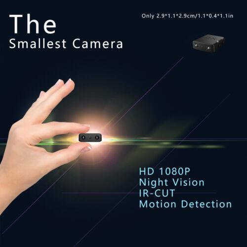 Full HD 1080P Mini Hidden Spy Camera Night Vision Motion Security DVR Cam *USA*