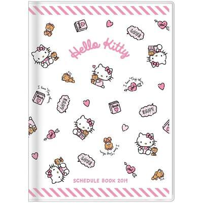 2019 Schedule Book Agenda Planner Hello Kitty A6 Monthly Japan