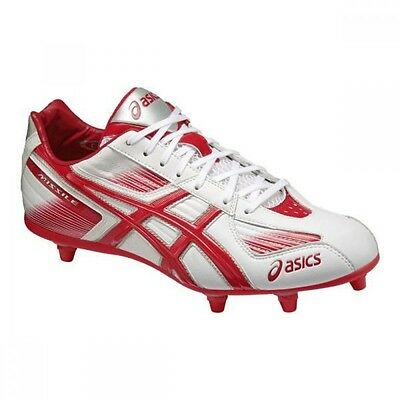 asics American football shoes Missile SC2-L TAM807 White X red
