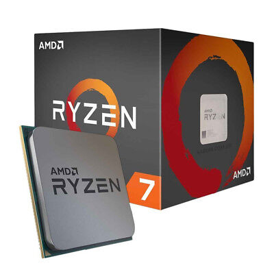 AMD Ryzen 7 1800X 4GHz Eight Core (YD180XBCAEWOF) Processor
