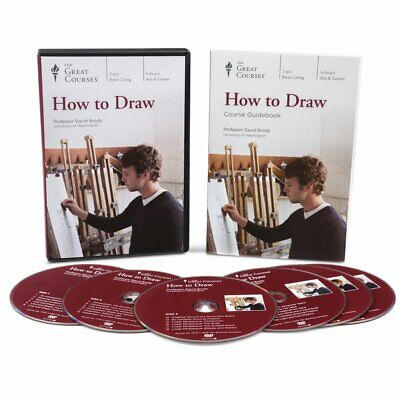 The Great Courses HOW to DRAW - Discover Your Own Artistic Ability - Retail=$385