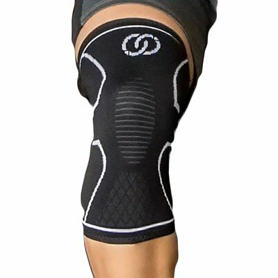 Knee Brace Compression Sleeve Support Best for Meniscus Tear, Arthritis, ACL