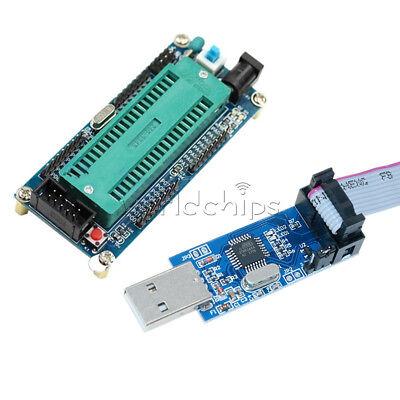 Atmega32 Atmega16 Minimum System Board Usb Isp Usbasp Programmer 10 Pin Cable