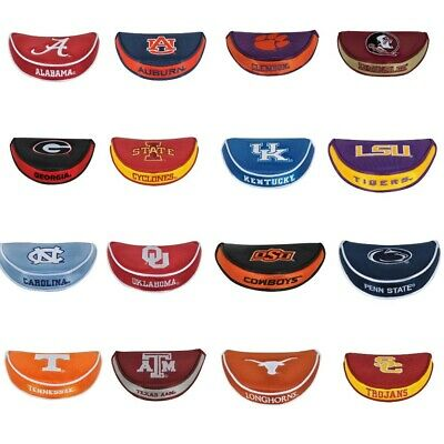 NEW Team Effort Golf NCAA College Mallet Putter Head Cover - Pick Your (College Putter Cover)
