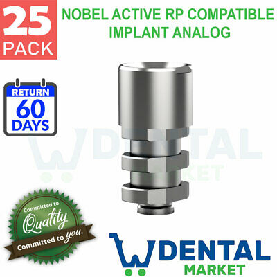X 25 Nobel Active Rp Compatible Implant Analog