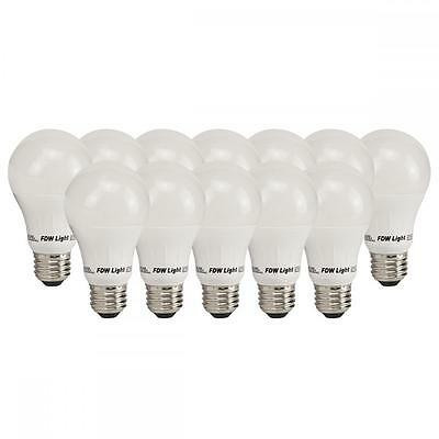 60W Equivalent SlimStyle A19 Soft White 3000K LED Light Bulb 12 Pack A1912