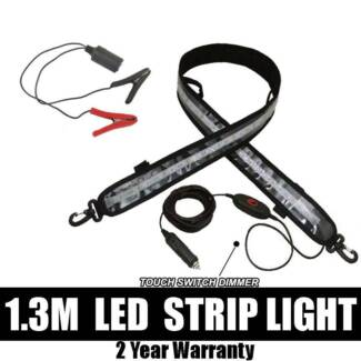 LED STRIP LIGHT (1.3M) FLEXIBLE & WATERPROOF - WITH DIMMER