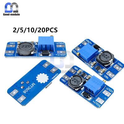 251020pcs Mt3608 Step Up Power Apply Module Booster Power Module For Arduino