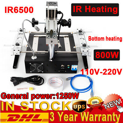Ir6500 Hot Air Ir Bga Rework Station Reballing Repair Soldering For Xbox360 Ps3