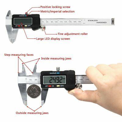 Digital Electronic Gauge Stainless Steel Vernier Caliper 150mm6inch Micrometer