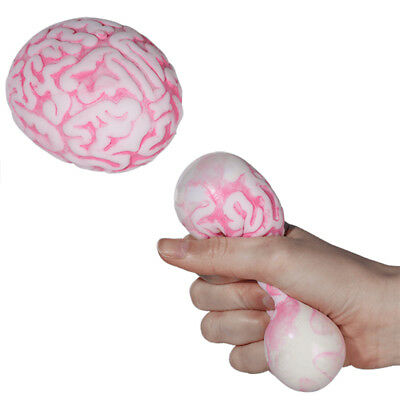 Anti Stress Ball Gehirn Knetball Knautschball Squeeze Frust Bälle Hirn Halloween