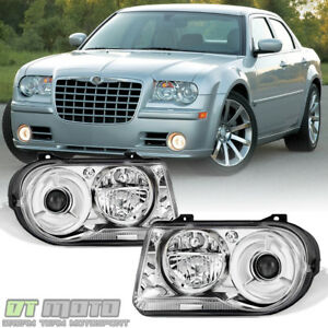 Factory Style 2005 2006 2007 2008 2009 2010 Chrysler 300c Headlights Headlamps