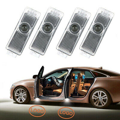 4pcs LED Car Door Light Projector Welcome Shadow Light Car Logo Accessory Lights