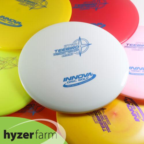 Innova STAR TEEBIRD *choose your color and weight* Hyzer Farm disc golf driver