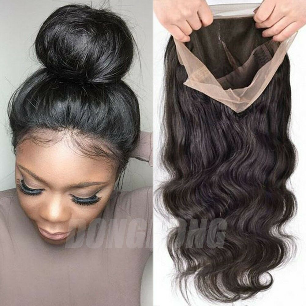 Details about Peruvian Human Hair Wig Silk