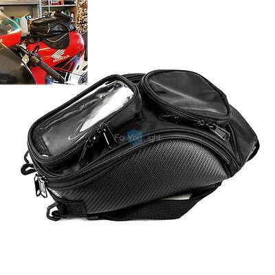 Universal Magnetic Motorcycle Oil Fuel Tank Waterproof Shoulder Sling Bag Travel