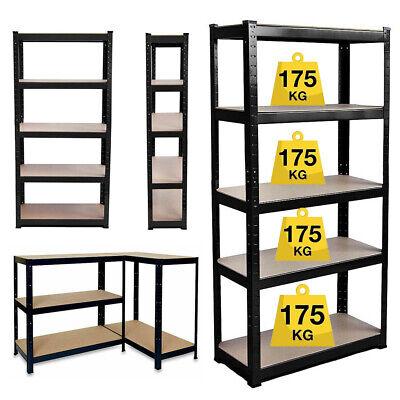 Storage Shelves Rack Steel Garage Home Organizer Metal Heavy Duty Shelving Unit