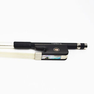 4/4 Carbon Fiber Cello Bow Natural Horsehair Sweet Sound Ship From USA 50% OFF