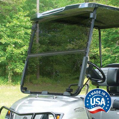 Yamaha G22 / GMAX Tinted Impact Modified Fold Down Golf Cart Windshield