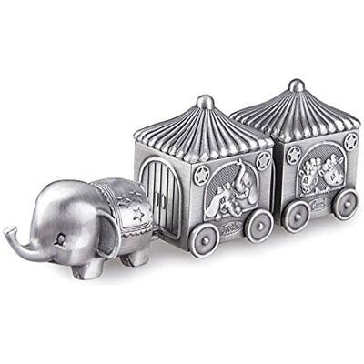 Feyarl First Curl And Tooth Elephant Keepsake Box Train Souvenir Christmas Kids