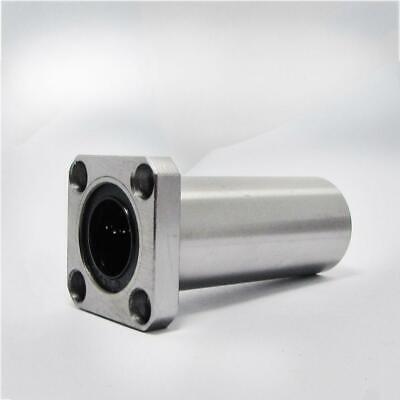 4x Lmk10luu 101955mm Square Flange Long Type Cnc Linear Motion Shield Bearing