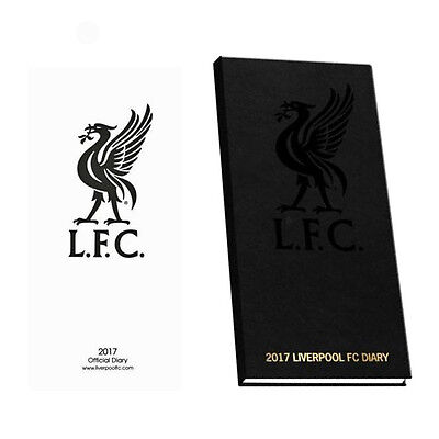 Official Liverpool FC 2017 Pocket Diary Slim Diary