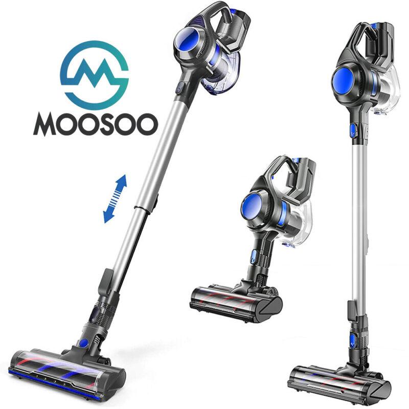 MOOSOO 4 in 1 Standard/Telescopic Tube Stick Cordless Vacuum Cleaner XL-618A US
