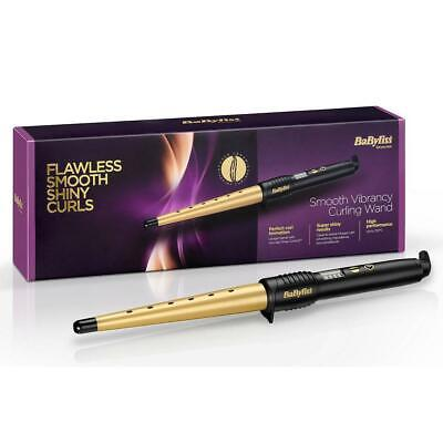 BaByliss BA-2285DU 39W Smooth Vibrancy Hair Curling Wand with 5 Digital Setting