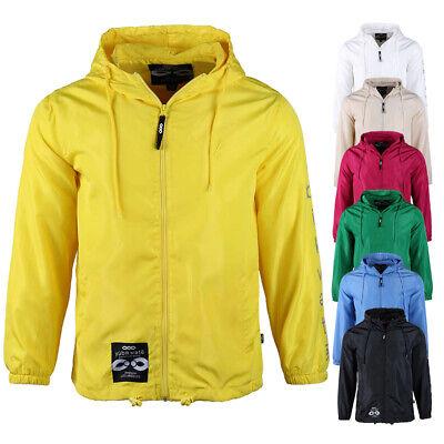 Men's Lightweight Running Sportswear Breathable Mesh Lining Hooded Windbreaker Baseball Mesh Vest