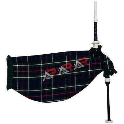 Wind & Woodwind Earnest Scottish Bagpipe Practice Chanter Rosewood Black Color/practice Chanter Black