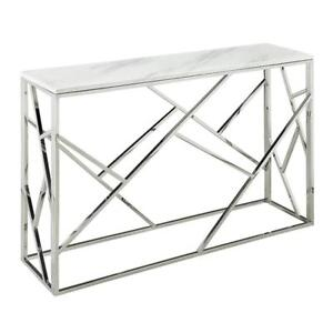 MIRRORED CONSOLE TABLES - UPTO 70% OFF | CHEAP HALLWAY TABLE (BD-823)
