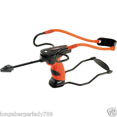 BARNETT COBRA SLINGSHOT SIGHT SYSTEM SOFT GRIP PROFESSIONALS CHOICE RED BLACK