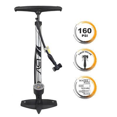 Cannondale Airspeed LX Bicycle Frame Pump Schrader Presta Valve 120 PSI w//Gauge