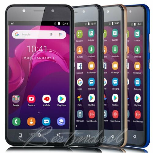 GSM Unlocked AT&T T-Mobile Android8.1 WIFI DuaL SIM 4Core SmartPhone Cell Phone