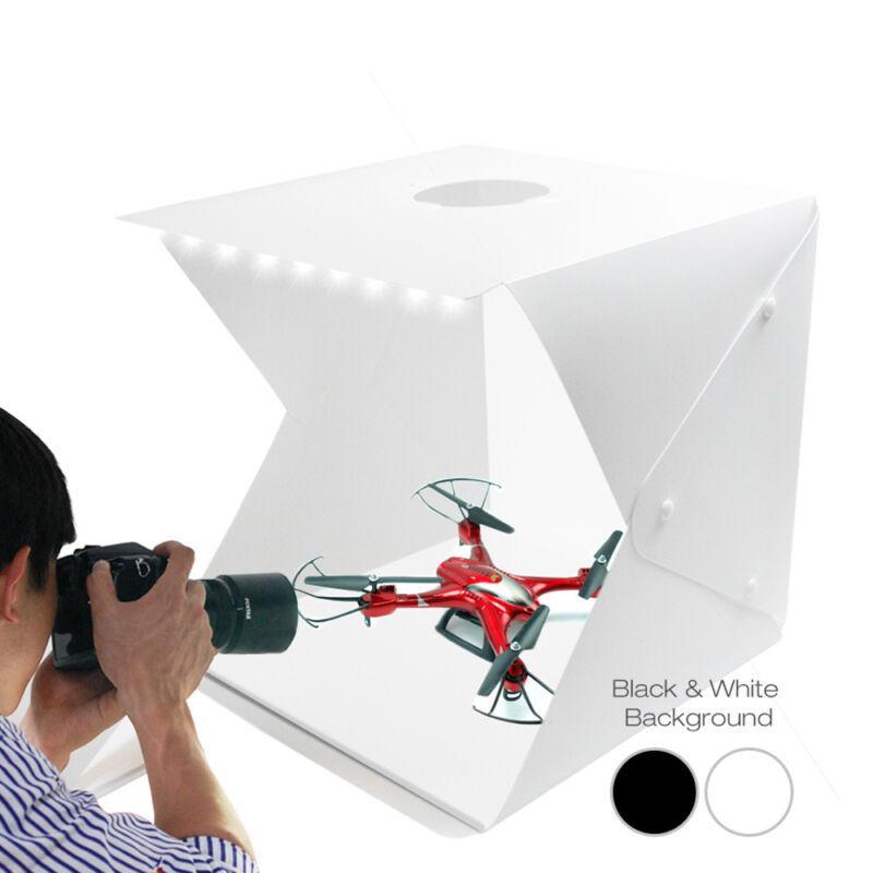 """16"""" Photo Studio Photography Lighting Shooting Tent Backdrop Kit Mini Cube Box"""