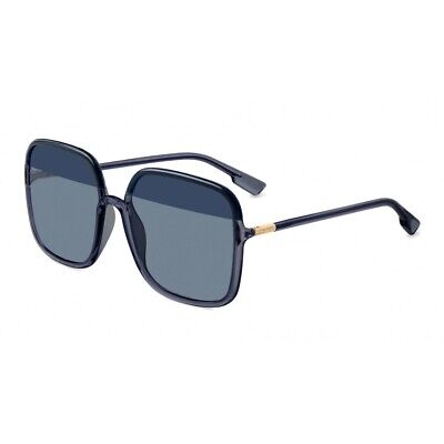 Christian Dior SO STELLAIRE 1 Blue Azure Dark Light Blue Lens Women (Christian Dior Sunglass)