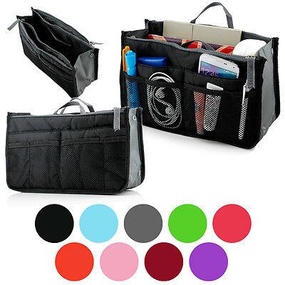 Bag Organizer Insert - Women Lady Travel Insert Handbag Organiser Purse Large Liner Organizer Tidy Bag