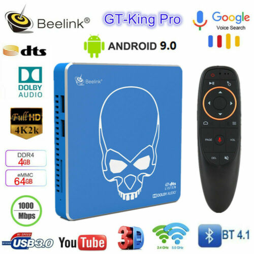 Beelink GT-King Pro Smart TV BOX Amlogic S922X-H Android 9.0