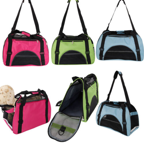 New Folding Dog Cat Puppy Pet Carrier Fabric Portable Kennel