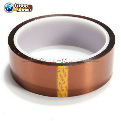 30mm 100ft Kapton Tape Resistant High Temperature Pcb Bga Wave Soldering Top