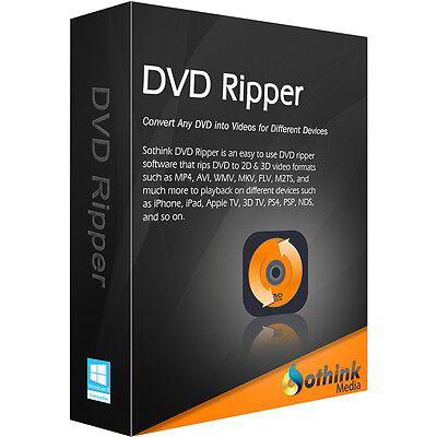 DVD Ripper Sothinkmedia dt.Vollvers. 1 Jahr Lizenz Download 14,99 statt 26,99