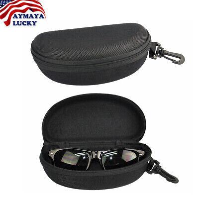Portable Zipper Sunglasses Eye Glasses Carry Box Hard Case Protector Shell (Sunglasses Zipper Box)