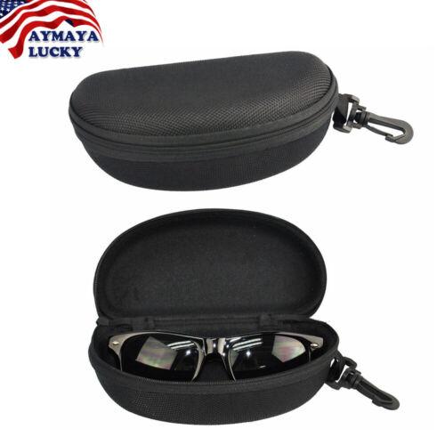 Portable Zipper Sunglasses Eye Glasses Carry Box Hard Case